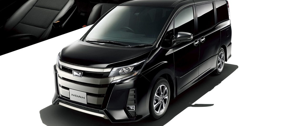 All New Toyota Noah Hybrid Si available.